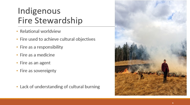 Even so, there is still a lack of understanding of cultural burning, as a long history of suppressing these practices shows us.